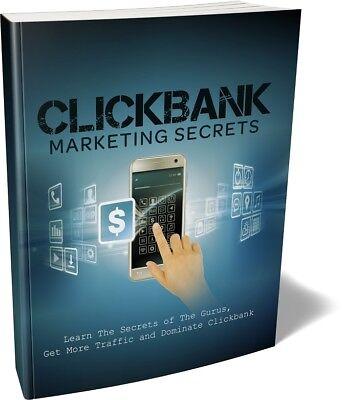 CLICKBANK Marketing Secrets - Learn Digital & Product Affiliate  Marketing (CD)