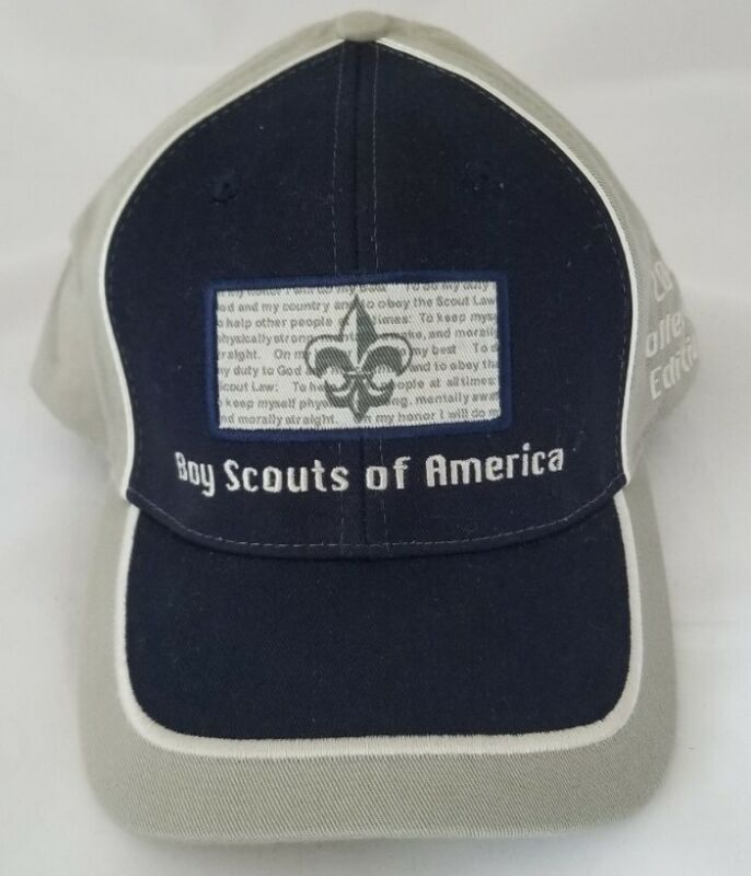 NEW Boy Scouts of America 2002 Collectors Edition Khaki & Navy Hat - OSFA