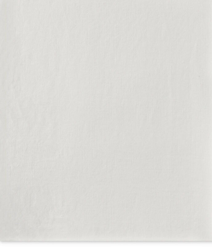 Hotel Collection Linen Queen Flat Sheet 100% Linen ''60in X 80in'' ~ White 🖤