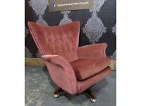 Fantastic G Plan Blofeld Egg Chair 6250 Rocker Rocking Sprung Swivel & Tilt - Uk Delivery