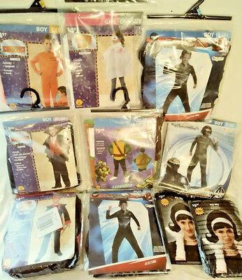 8 CHILD HALLOWEEN COSTUMES 2 WIGS TMNT SPIDER-MAN CAPTAIN AMERICA FREE SHIPPING](2 Man Halloween Costumes)