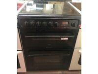 BLACH HOTPOINT FREE STANDING 60cm ELECTRIC COOKER, EXCELLENT CONDITION 4 MONTHS WARRANTY