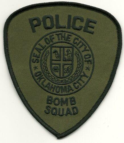 Subdued Bomb Squad EOD OK City Police State Oklahoma