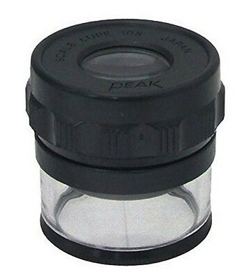 PEAK / HIGH QUALITY SCALE LOUPE - 10x 20mm / 1983 / MADE IN JAPAN