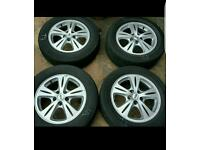 Alloys Ford c-max, s-max, galaxy, focus, may also fit VW SHARAN and others