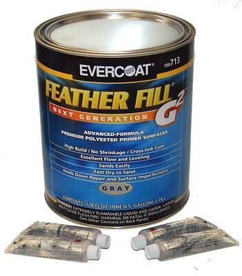 Owner Evercoat Feather Fill G2 Polyester Primer Surfacer (Gray Gallon) Fib-713
