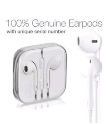 New Apple Earpods Earphones W/ Remote & Mic 3.5mm For iPhone 5SE 5C 5 6S 6 PLUS