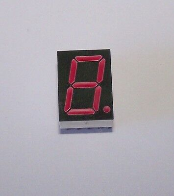100 Pcs Hdsp-h211 7-segment Common Anode Red Led Display By Avago . 5d2a