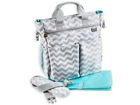 Premium Unisex Baby Changing Bag - 13 Pockets + FREE Nappy Changing Pad - Brand New & Sealed