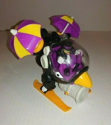 Fisher Price Imaginext DC Super Friends Batman The Penguin Helicopter W/ Figure