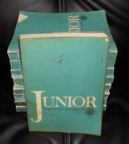 Lot of 9 Vintage JUNIOR GIRL SCOUT Handbooks - 1960
