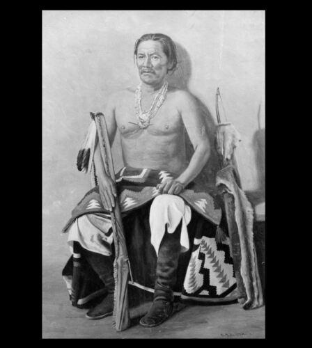 Navajo Chief Manuelito PHOTO Indian HOLY BOY Native American Leader