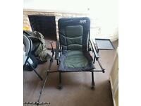 SIlstar full reclining fishing chair with armrest