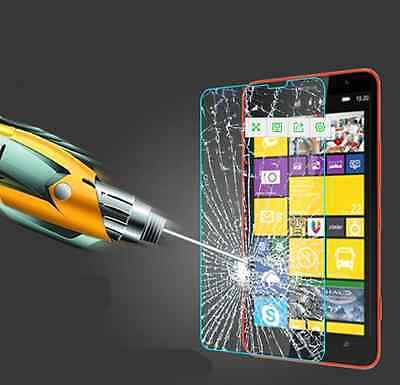 Clear Tempered Glass Screen Protector Film For Microsoft Nokia Lumia Cellphone U