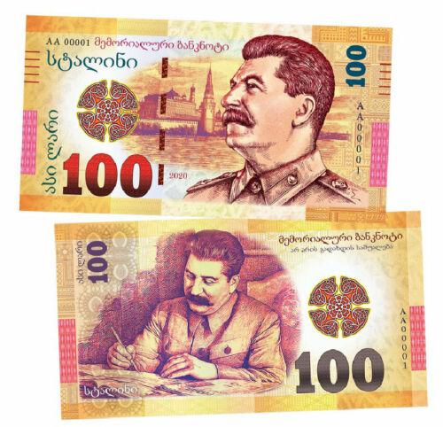 Russia 100 rubles Joseph Stalin. Political leader of the USSR. UNC