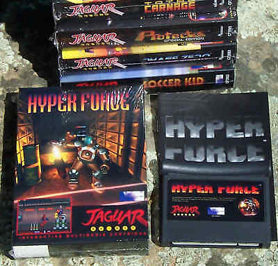 Hyperforce Atari Jaguar Cart New In the Box From Songbird! NIB New