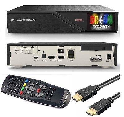 Dreambox DM 900 UHD 4K DUAL Twin DVB-S/S2 SAT Linux IPTV + HDMI + SAT AKTION NEU online kaufen