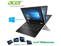 Comes Original Boxed - Acer R3-Series Touchscreen - Windows 10 - 500Gb - Intel HD - Webcam