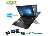 Comes Original Boxed - Acer R3-Series Touchscreen - Windows 10 - 500Gb - Intel HD - Webcam