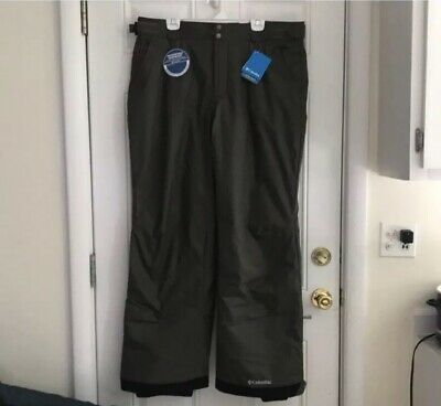 COLUMBIA Omni-Tech Boundary Run Insulated Ski Snow Pants 208 SM8308 Mens XL  Run Omni Tech Pant