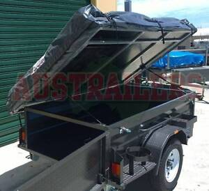 Camper trailer 7x4 with tent top ready for Christmas! Clontarf Redcliffe Area Preview