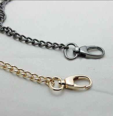 Round Metal Purse Handbag (40-120 CM Smooth Metal Chain for Handbag purse or Bag Round buckle)