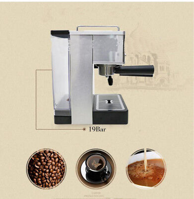 Commercial Semi-automatic Pump 15bar High Pressure Espresso Coffee Machine