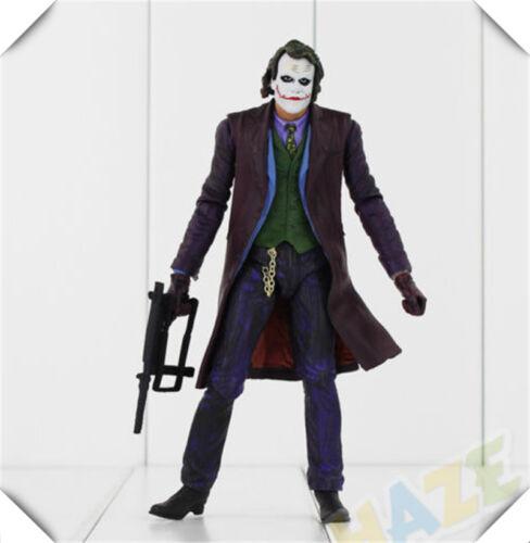 "NECA The Joker 7/"" figurine Batman Dark Knight Le Chevalier noir Joker classique"