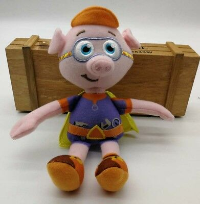 """8"""" NEW Rare Learning Curve PBS Show Super Why Alpha Pig Plus"""
