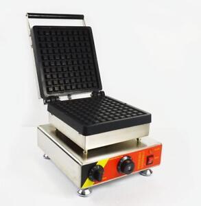 Commercial Non-stick Electric Waffle Maker Iron Baker Waffle Making Machine 110V (022473/022478)