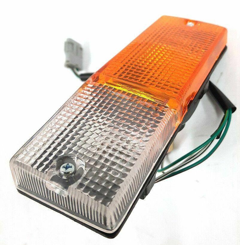 *NEW* BUMPER BULLBAR INDICATOR BLINKER LIGHT LAMP  170mm x 55mm  LEFT SIDE  LHS
