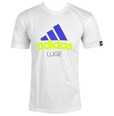 Adidas Herren DSV T-Shirt Logo Freizeit Sport Fitness Olympia Bob weiß L XL XXL online kaufen