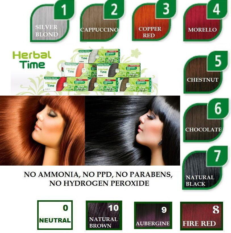 2 x 75 ml 100% Bio Henna Haarfarbe Creme Color Pflanzen Naturhaarfärbemittel