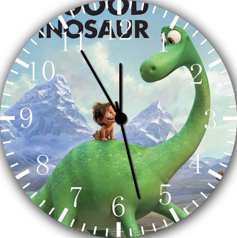 Disney The Good Dinosaur Frameless Borderless Wall Clock For Gifts or Decor E88