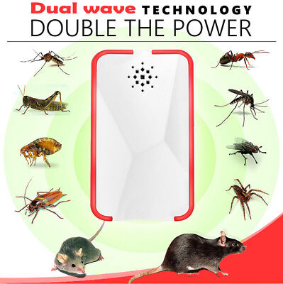 Ultrasonic Pest Repeller Mice Bug Mosquito Fly Cockroach Spider Rat Control 2018
