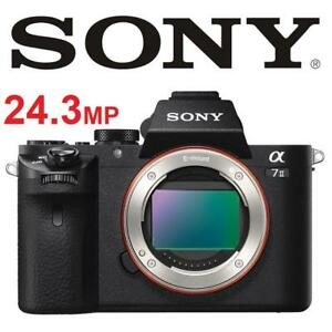 RFB SONY ALPHA A7 II DIGITAL CAMERA ILCE-7M2 187431767 24.3MP FULL FRAME MIRRORLESS PHOTOGRAPHY REFURBISHED