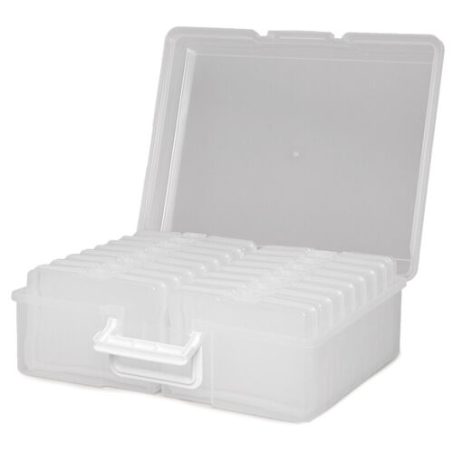 Photo Storage Box Organizer Cases Store up to 1,600 Photos or More