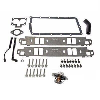Intake Manifold Gasket Kit & Thermostat for Dodge 1500 Ram 2500 5.2L-5.9L