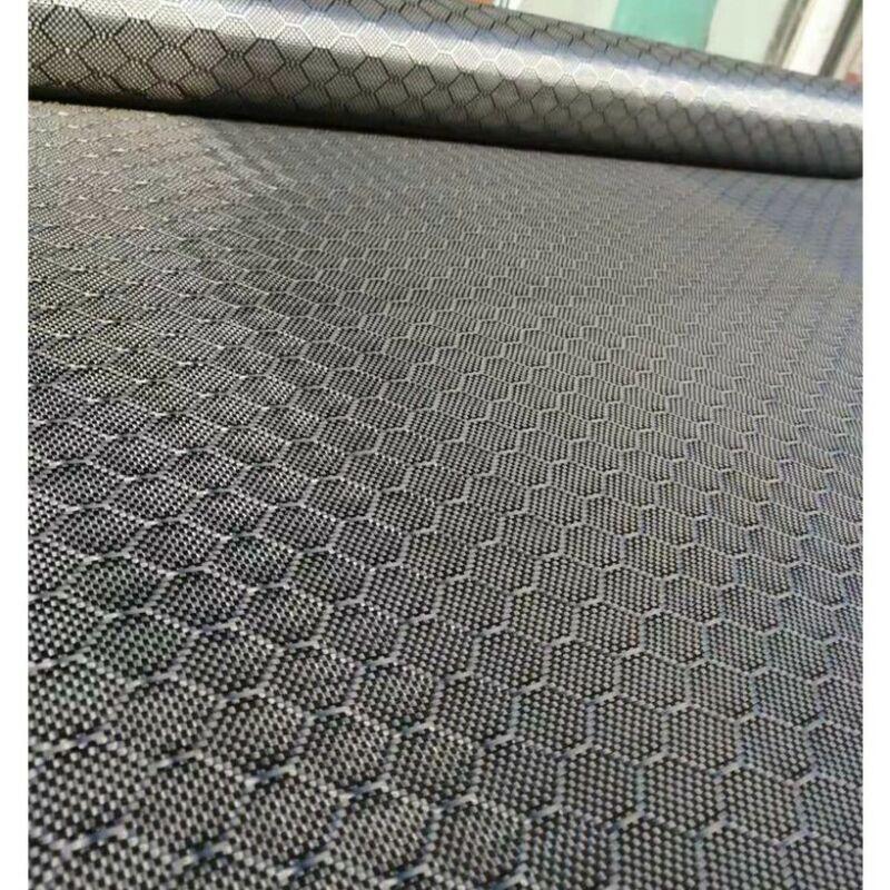 "2x2 Real Carbon Fiber Cloth Fabric Football pattern 32"" /82cm width 3K 240gsm"