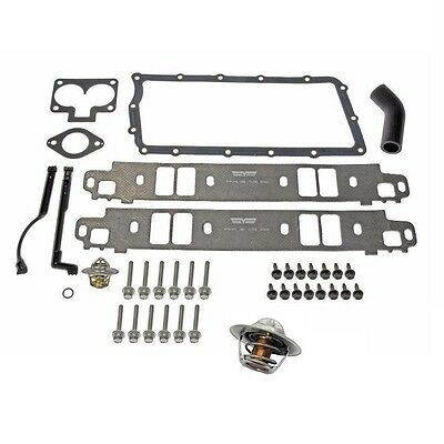 For Intake Manifold Gasket Kit & Thermostat for Dodge 1500 Ram 2500 - 1500 Intake Manifold Gasket