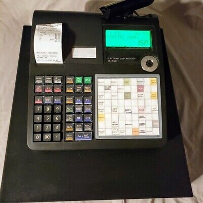 Casio Tk-15560 Cash Register In Box W Extras - 4mb Flash Memory - - Used