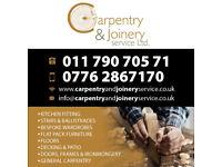 Carpenter Joiner, Bespoke Stairs, wardrobe, cupboard, drawers