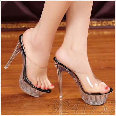 Klar, Schuhe (Klar Damenschuhe Fashion Pumps Pantoletten Neu Platform High Heels Neu Klar35-43)