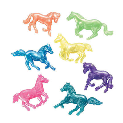 Western Themed Birthday Party (24 Squishy HORSES Western theme Birthday Party Favors Teacher PRIZES AWARDS)