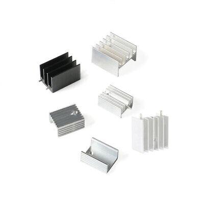 10pcs Heat Sink To-220 Transistor Radiator 252416mm201510211510 Aluminum