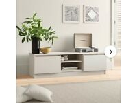 NOW GONE - FREE BRAND NEW Wayfair Marcia TV stand - white