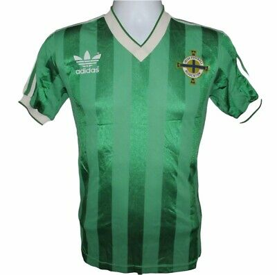 1982-1984 Northern Ireland Home Football Shirt, adidas, Small (Excellent) image