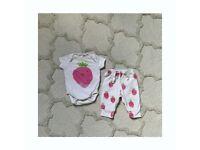 Baby Gap newborn summer set