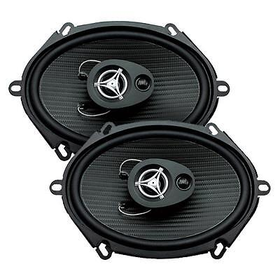 "Power Acoustik EF-573 500 Watts 5"" x 7"" 3-Way Coaxial Car Audio Speakers 5x7"""
