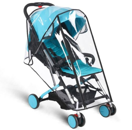New Waterproof Baby Stroller Rain Cover Wind Dust Shield Canopy Pushchair S M L Baby